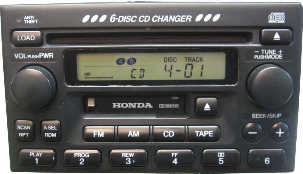 Accord on toyota replacement radios